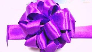 Как сделать ПОДАРОЧНЫЙ БАНТ / DIY Easy Gift Ribbon Bow / ✿ NataliDoma(Мастер-класс - Простой способ сделать бант для упаковки подарков. Easy way to make a bow for gift wrapping. ✿ Мой канал на..., 2013-11-25T17:37:45.000Z)