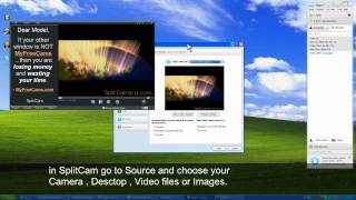 How to use SplitCam with Skype video tutorial
