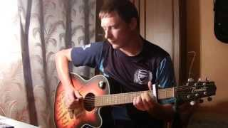 БЛЕСНЁТ - Калинов Мост / как играть на гитаре / кавер