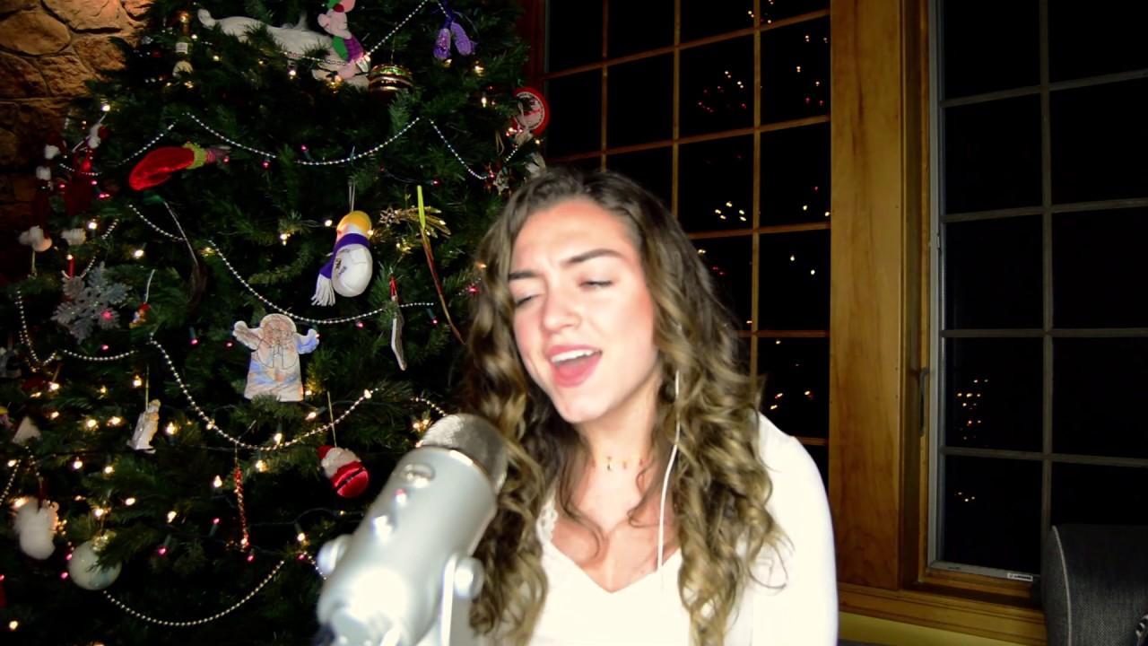 My Grown-Up Christmas List- Kelly Clarkson (cover) - YouTube