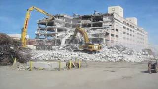 Testa Corp Warehouse Demolition Timelapse