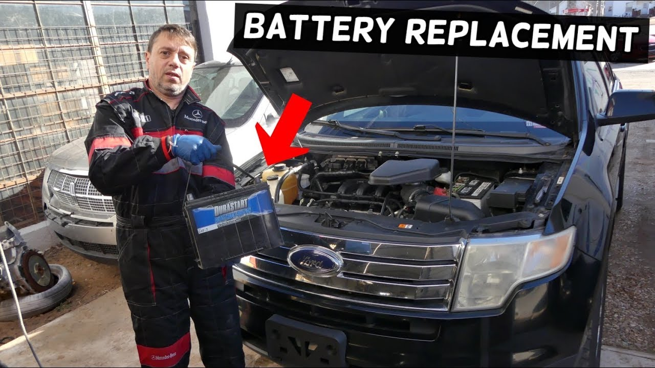 How To Replace Battery On Ford Edge 2007 2008 2009 2010 2011 2012