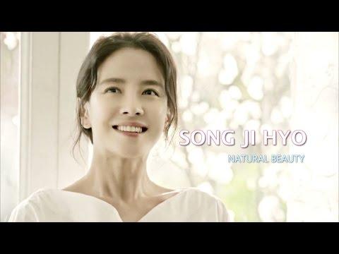Song Ji Hyo Appears incredibly Beautiful in CELDERMA CF Part 2