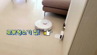 로보락 로봇청소기 꽁무니 따라다니기