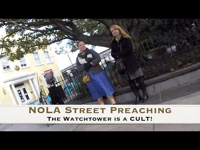 How to deal with the Jehovah's Witness Cult!