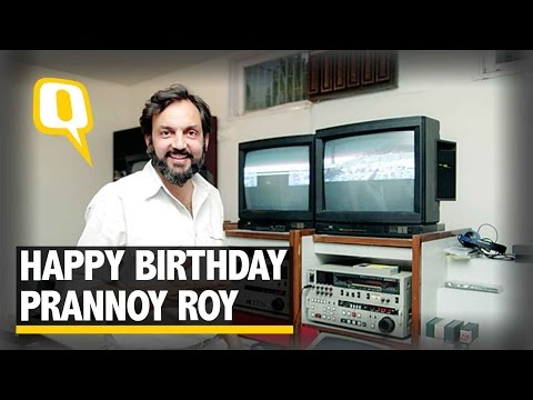 The Quint Wishes A Happy Birthday to Prannoy Roy