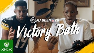 Madden NFL 20 | Victory Bath ft. JuJu Smith-Schuster