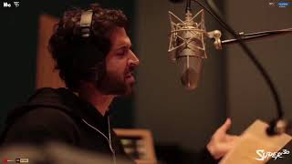Hrithik Roshan recording his song Question mark super 30