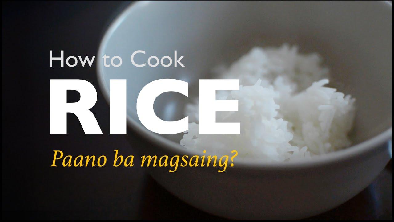 How To Cook Rice €� Ulampinoy #42 €� Paano Ba Magsaing?