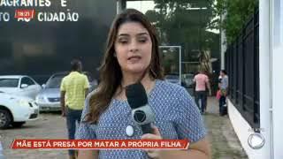 Chocante  - Mãe mata filha de 1 ano a marretadas e incendia o corpo, em Goiânia