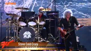 Queen + Adam Lambert - Stone Cold Crazy - Rock In Rio 2015