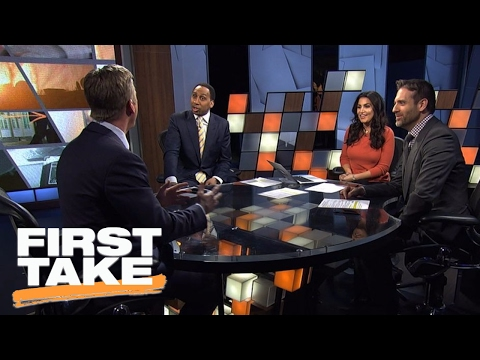 Tom Waddle Stuns Stephen A. Smith By Defending Jay Cutler | First Take | February 15, 2017