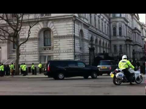 Joe Biden visiting no. 10 Downing Street London