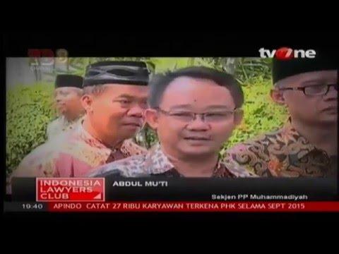 ILC - Indonesia Lawyers Club Episode Terbaik 2015 - 22 ...