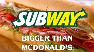 How Subway Became Bigger Than McDonalds
