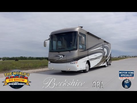 Forest River Berkshire RV Review at Motor Home Specialist 2015 2016