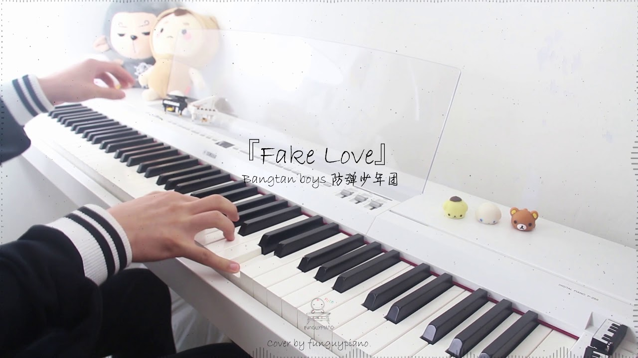 BTS - Fake Love | Free Piano Sheet | Funguypiano