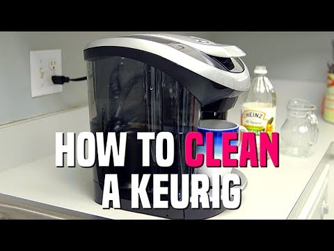 How to Clean a Keurig With Vinegar