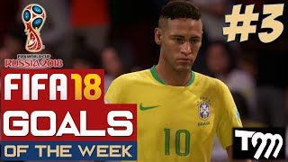 Fifa 18 WORLD CUP - TOP 10 GOALS OF THE WEEK #3 (Fifa World Cup)