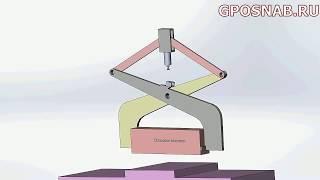 Захват для подъёма и перемещения блоков прямоугольной формы