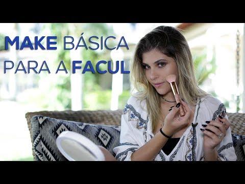 Make Básica para Facul - Por Mafe Nóbrega