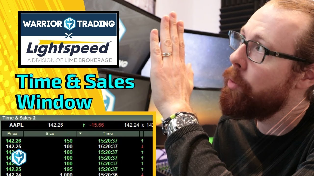 Time And Sales Window Youtube How to read time and sales webull