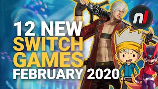 12 Exciting New Games Coming To Nintendo Switch - February 2020