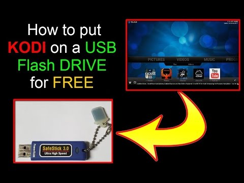 How to install KODI on a USB Flash Drive
