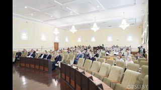Роль кафедры в реализации студентоцентрированного образования обсудили в ГрГУ имени Янки Купалы
