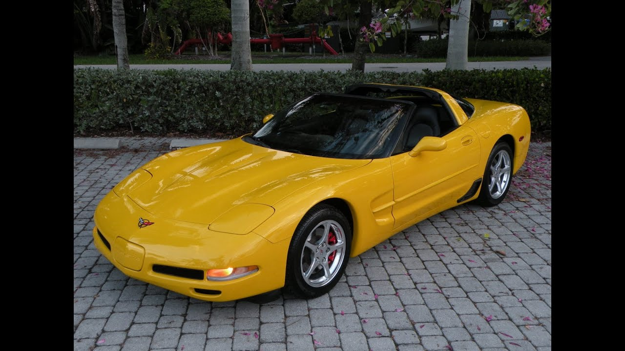 2000 chevrolet corvette for sale in fort myers fl youtube. Black Bedroom Furniture Sets. Home Design Ideas