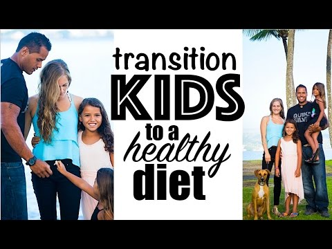 Tips for Transitioning Kids to a Healthy Diet | LilyKoi Hawaii