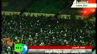 Egypt soccer riot video  Over 70 dead at Port Said stadium - GEORGE VIDEOS 2012