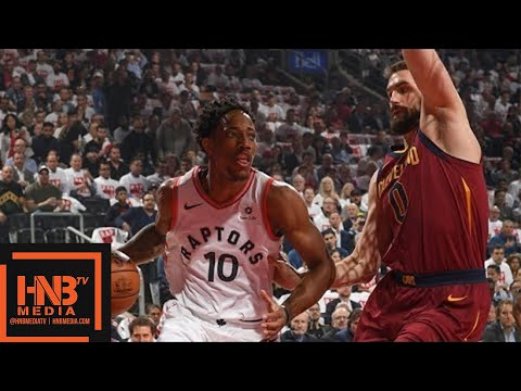 Cleveland Cavaliers vs Toronto Raptors 1st Half Highlights / Game 1 / 2018 NBA Playoffs