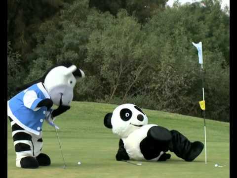 "Golf 4 Less >> PANDA FLASH ""PANDA GOLF CUP"" 2014 - YouTube"