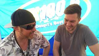 Mix 100.5 Pre-Show Interview with Andy Grammer at The River at Rancho Mirage