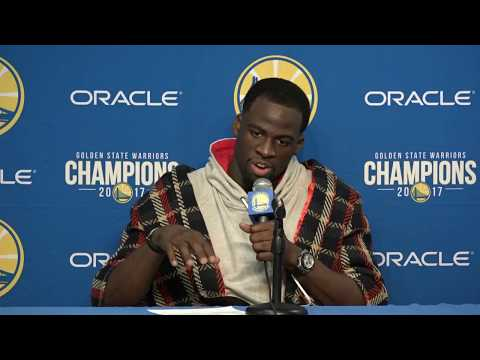 Draymond Green Postgame Interview | Warriors vs Cavaliers | December 25, 2017