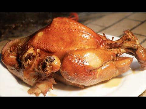 山东小镇名吃,1元的烤牌一天做2000个都不够卖!+46元的烧鸡,用手撕着吃,外皮比肉还香!