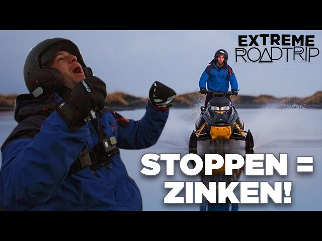 EPISCHE sneeuwscootertocht! - Extreme Roadtrip #7
