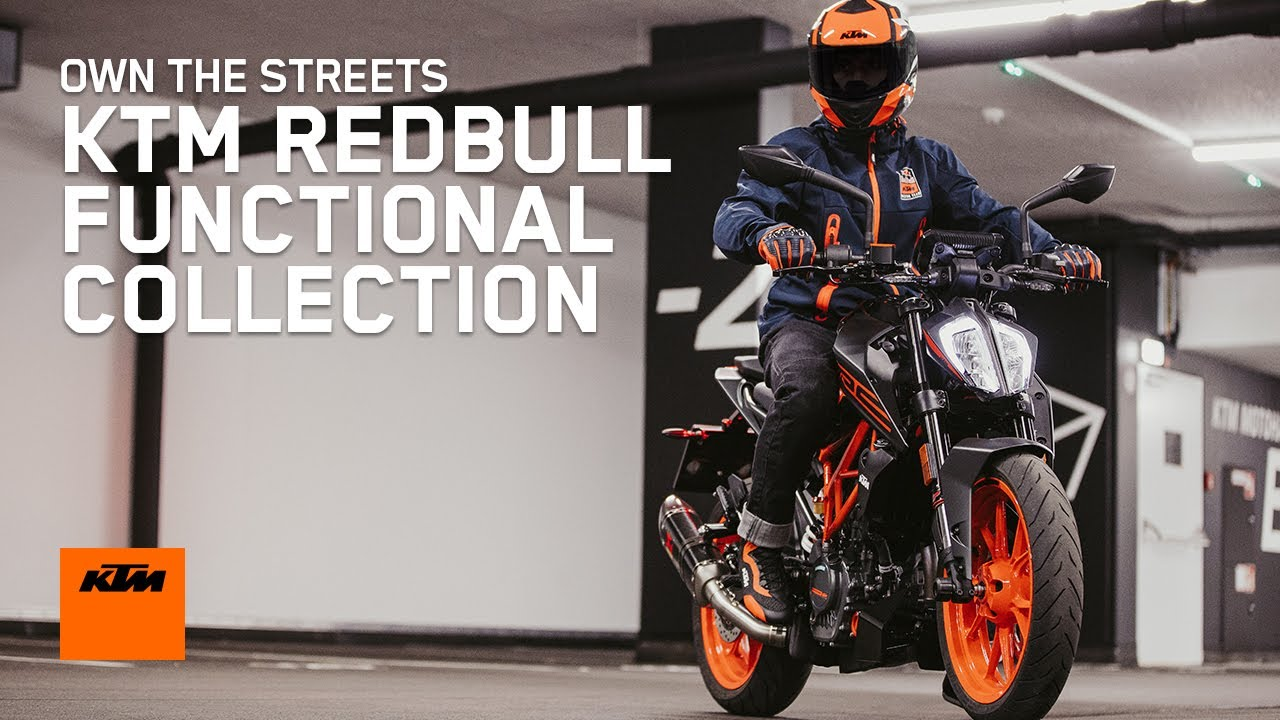 KTM REDBULL FUNCTIONAL COLLECTION – OWN THE STREETS | KTM