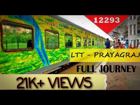 Mumbai to Allahabad (Prayagraj) | Full Journey | 12293 LTT ALD Duronto Express | Vwox Media