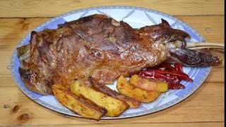 Fırında kuzu tandır (Roasted Lamb Tandoori )