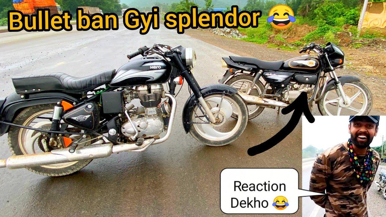 Hero Bullet 350|| New Bike || Ye to Dhoka ho gya 😂|| Dost ke Sath Prank  😂 ||