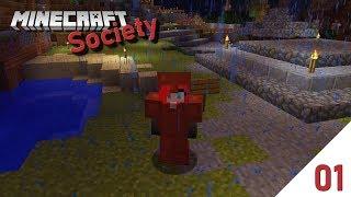Mein neues Zuhause! | Minecraft: Society | #01