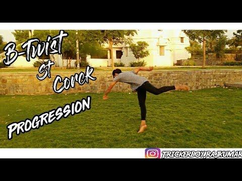 B-Twist to corck Progression and other tricks | Rajkumar karki