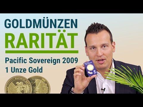 Goldmünzen Rarität 👑 Pacific Sovereign 2009 👑 1 Unze Gold
