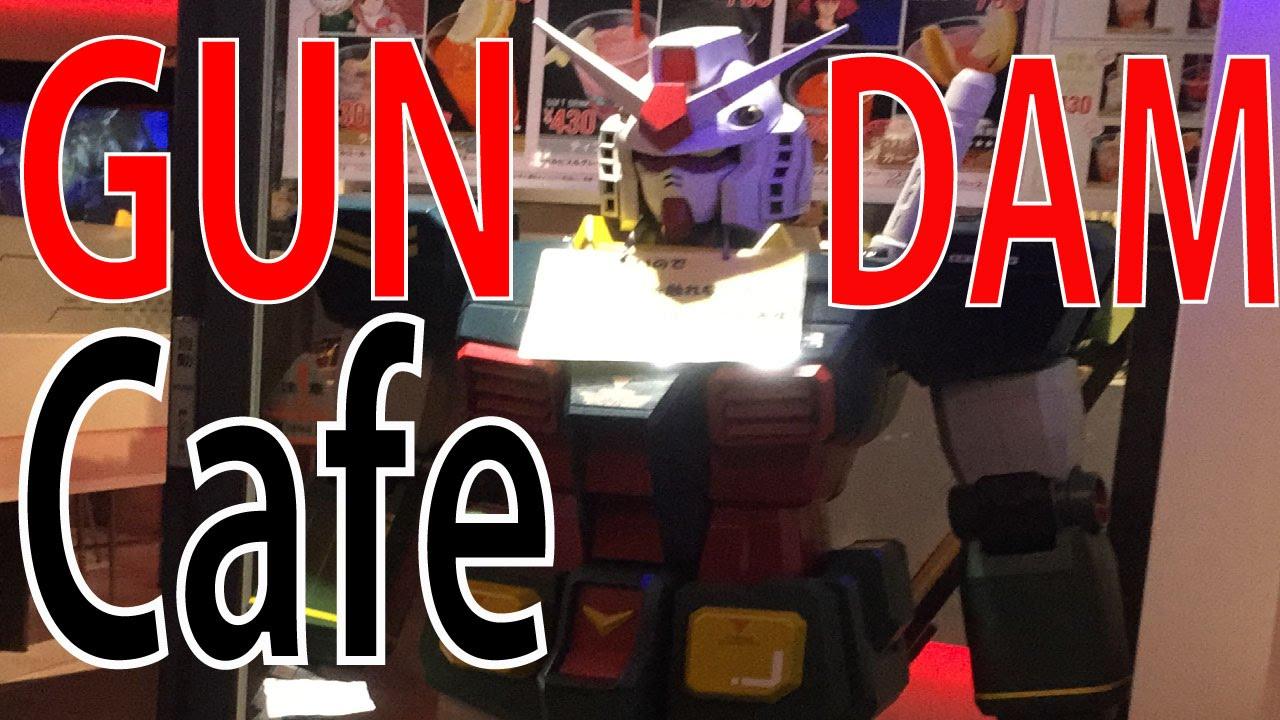 【English Sub】Gundam cafe Akihabara ガンダム カフェ 秋葉原 - YouTube