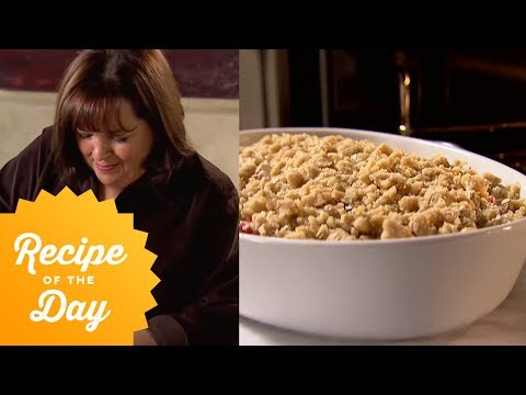Recipe Of The Day: Ina's Strawberry Rhubarb Crisp | Food Network