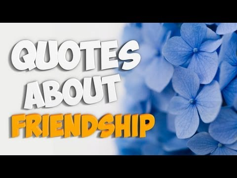 Quotes About Friendship - Best Quotations About Friendship