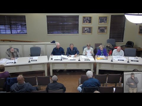 Planning & Zoning Commission Meeting 04/04/2018