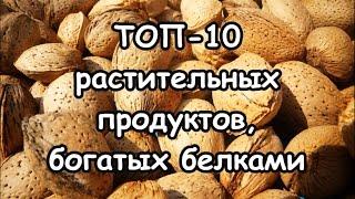 ТОП-10 растительных продуктов, богатых протеинами (белками)